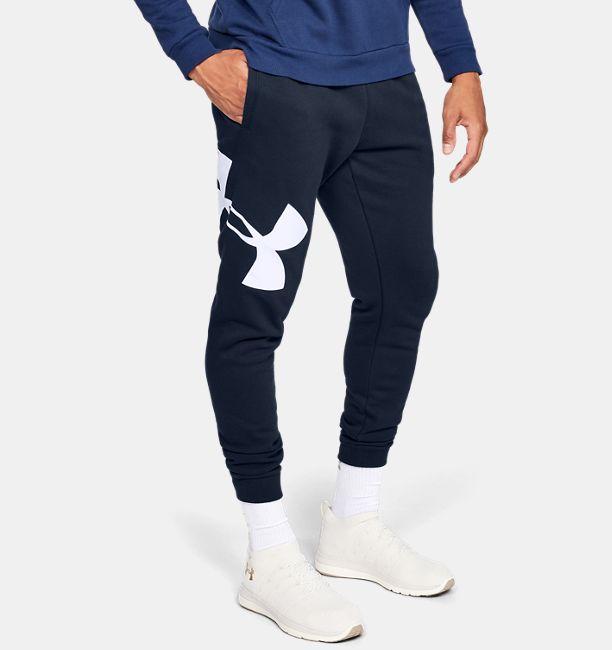 f7ebc412425f Men s UA Rival Fleece Logo Joggers