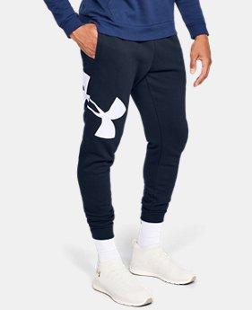 mens ua rival fleece logo joggers 3 colors available 45