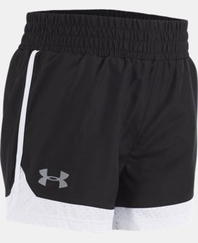 New Arrival Girls' Pre-School UA New Run Shorts  4 Colors $20