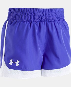 Girls' Pre-School UA New Run Shorts  4  Colors $20
