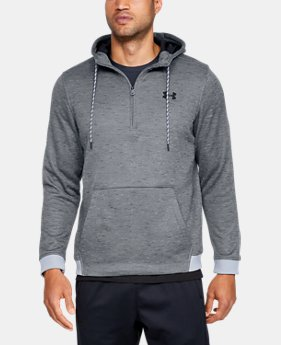Men's Armour Fleece® ½ Zip Hoodie  1  Color Available $65
