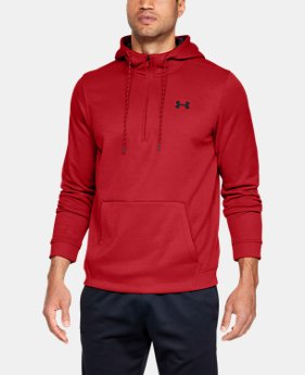 Men's Armour Fleece® ½ Zip Hoodie  1  Color Available $80