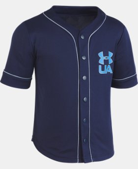 Boys' Pre-School UA Homerun Baseball Jersey T-Shirt   2  Colors Available $30