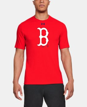 Men's MLB UA Stitch Logo Short Sleeve  1  Color Available $35