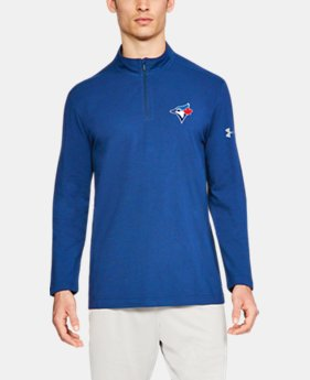 Men's MLB UA Chest ¼ Zip  1  Color Available $48.75