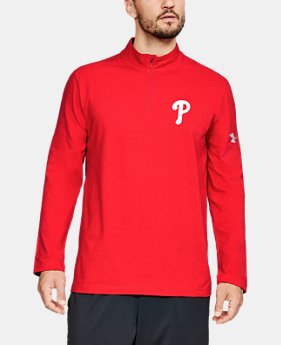 New Arrival Men's MLB UA Chest ¼ Zip  1  Color Available $65