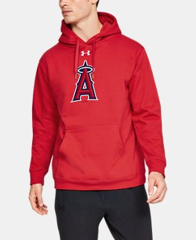 Men's MLB UA Commitment Mark Hoodie  1  Color Available $52.5