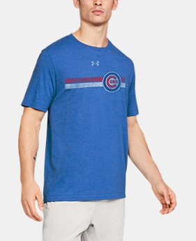 df170445 Men's MLB UA Tri-Blend Stripe Short Sleeve $24.99