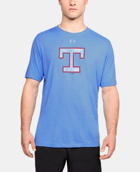 New Arrival Men's MLB UA Tri-Blend Mark Coop Short Sleeve  1  Color Available $35