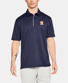 Men's MLB UA Tech™ Polo  1  Color Available $60