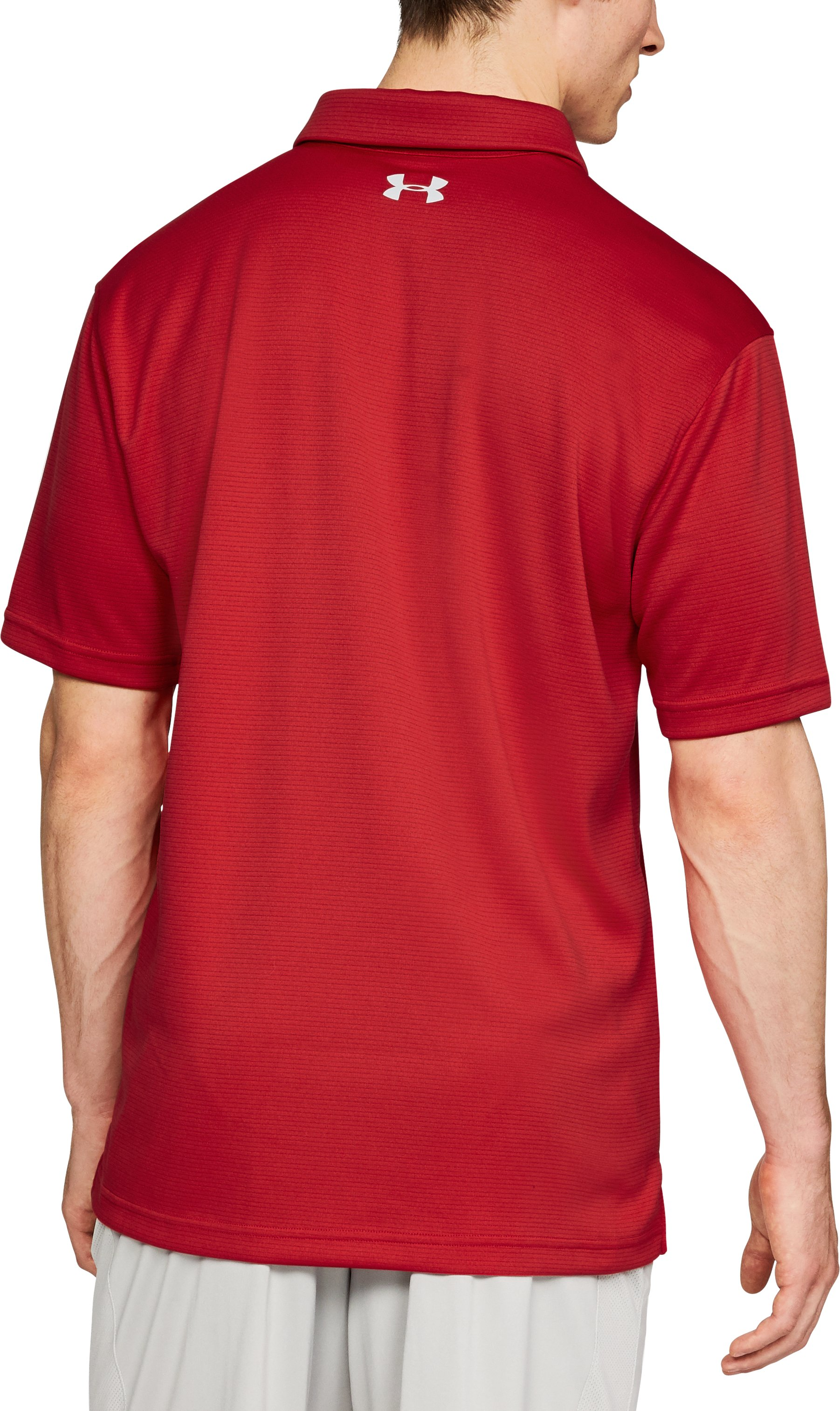 Men's MLB UA Tech™ Polo, MLB_STL_Scarlet,