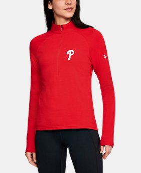 Women's MLB UA Left Chest ½ Zip  1  Color Available $65