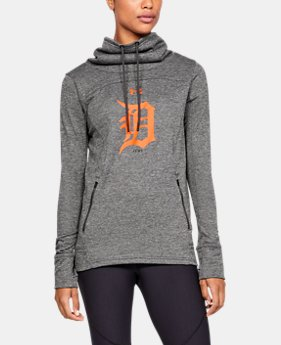 New Arrival Women's MLB UA Tech™ Terry Team Hoodie  1  Color Available $70