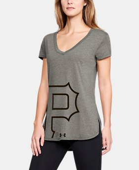 outlet store c8eff 175bb Women s MLB UA Tri-Blend Offset Short Sleeve 1 Color Available  40