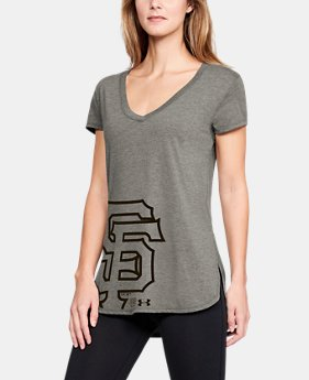 0d49bdd8575 Women s MLB UA Tri-Blend Offset Short Sleeve 26 Colors Available  40