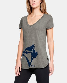 Women's MLB UA Tri-Blend Offset Short Sleeve  5  Colors Available $33.75