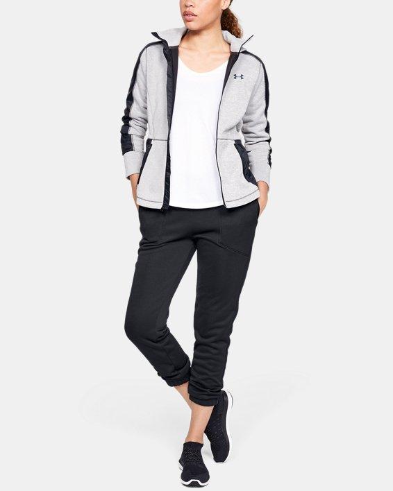 Women's UA Swacket Pants, Black, pdpMainDesktop image number 1