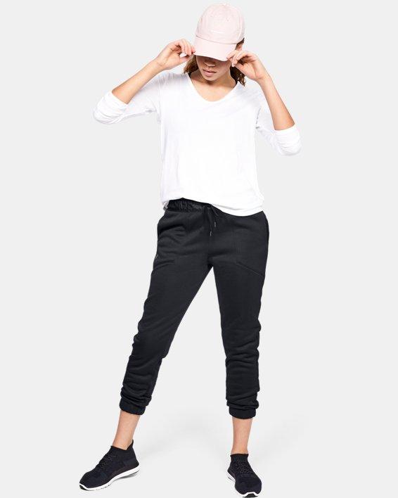 Women's UA Swacket Pants, Black, pdpMainDesktop image number 7