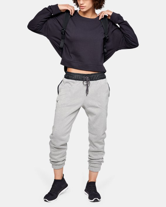 Women's UA Swacket Pants, Black, pdpMainDesktop image number 7