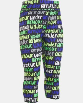 Girls' Pre-School UA Brushmark Capris  1  Color Available $27