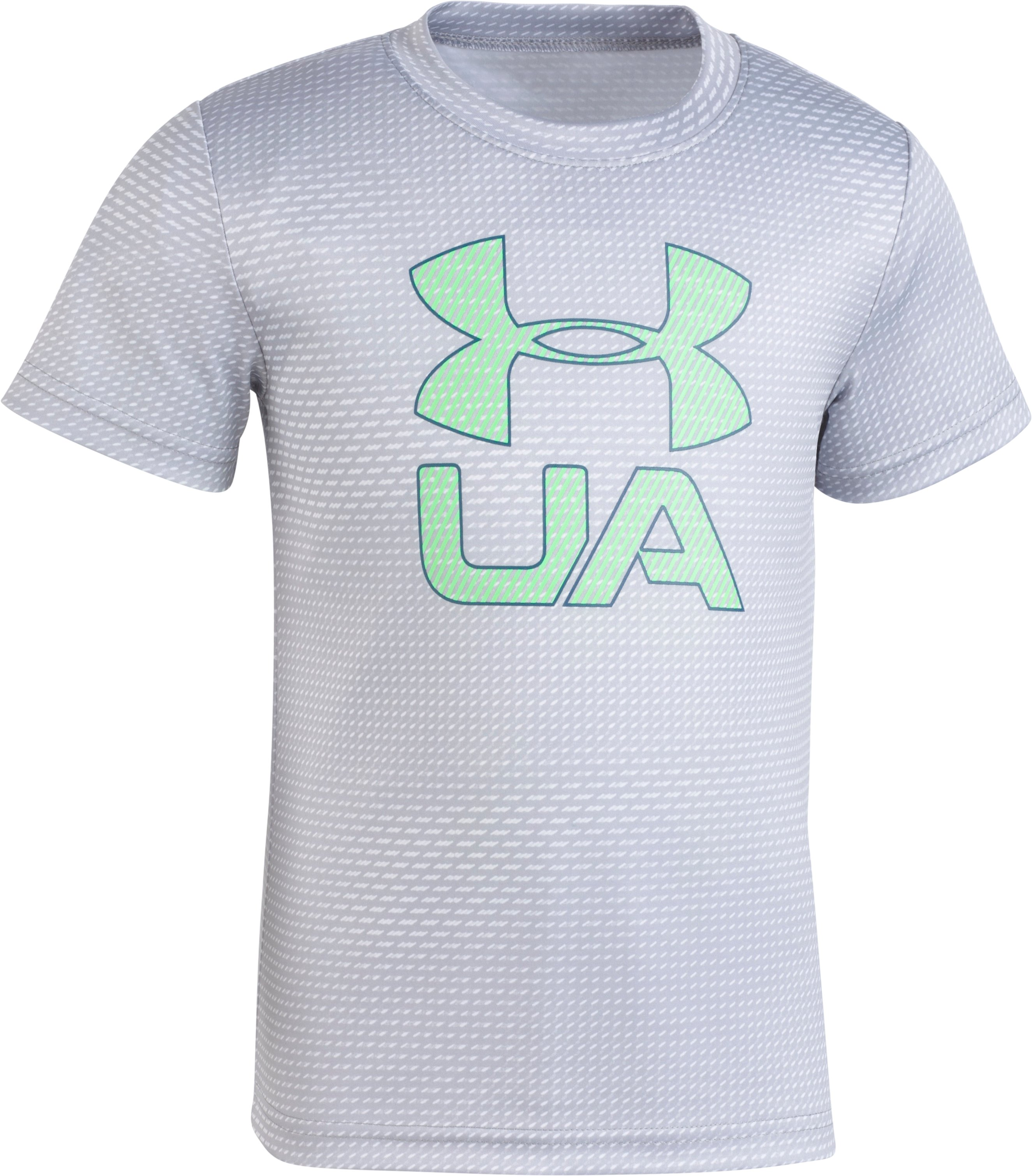 Boys' Pre-School UA Sync T-Shirt, White, zoomed