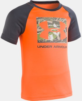 Boys' Pre-School UA Reaper Camo Logo    1  Color Available $20