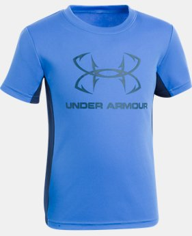 Boys' Pre-School UA Hook Logo Tech T-Shirt  1  Color Available $25
