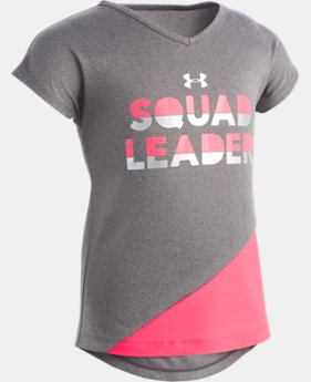 Girls' Toddler UA Squad Leader T-Shirt   1  Color Available $22