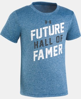 Boys' Toddler UA Future Hall Of Famer T-Shirt   1  Color Available $18
