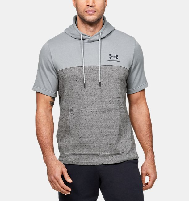 Under Armour Men's UA Sportstyle Short Sleeve Hoodie (various colors/sizes)
