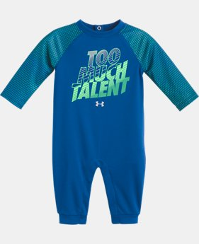 Boys' Newborn UA Too Much Talent Coverall   1  Color Available $25