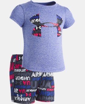 Girls' Infant UA Big Logo Set  FREE U.S. SHIPPING 2  Colors Available $35