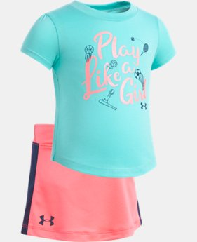 New Arrival Girls' Infant UA Play Like A Girl Set  FREE U.S. SHIPPING 1  Color Available $33