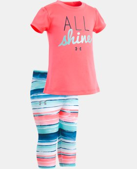 New Arrival Girls' Infant UA All Shine Set  FREE U.S. SHIPPING 1  Color Available $35