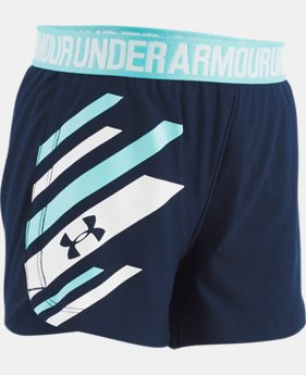 Girls' Infant UA Graphic Play Up Shorts   2  Colors Available $18