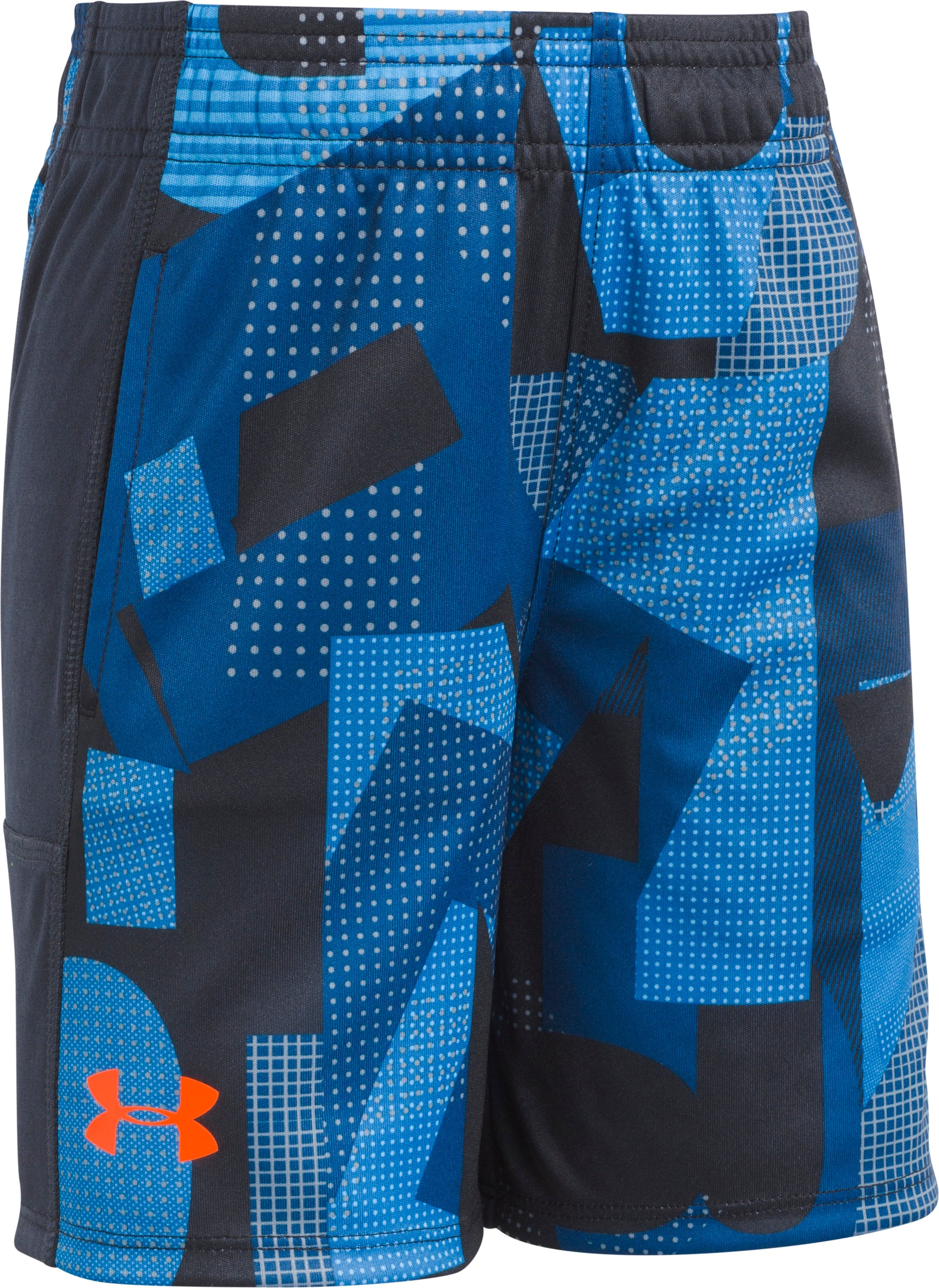Alpha Stunt Short 2T-4T, Moroccan Blue, zoomed