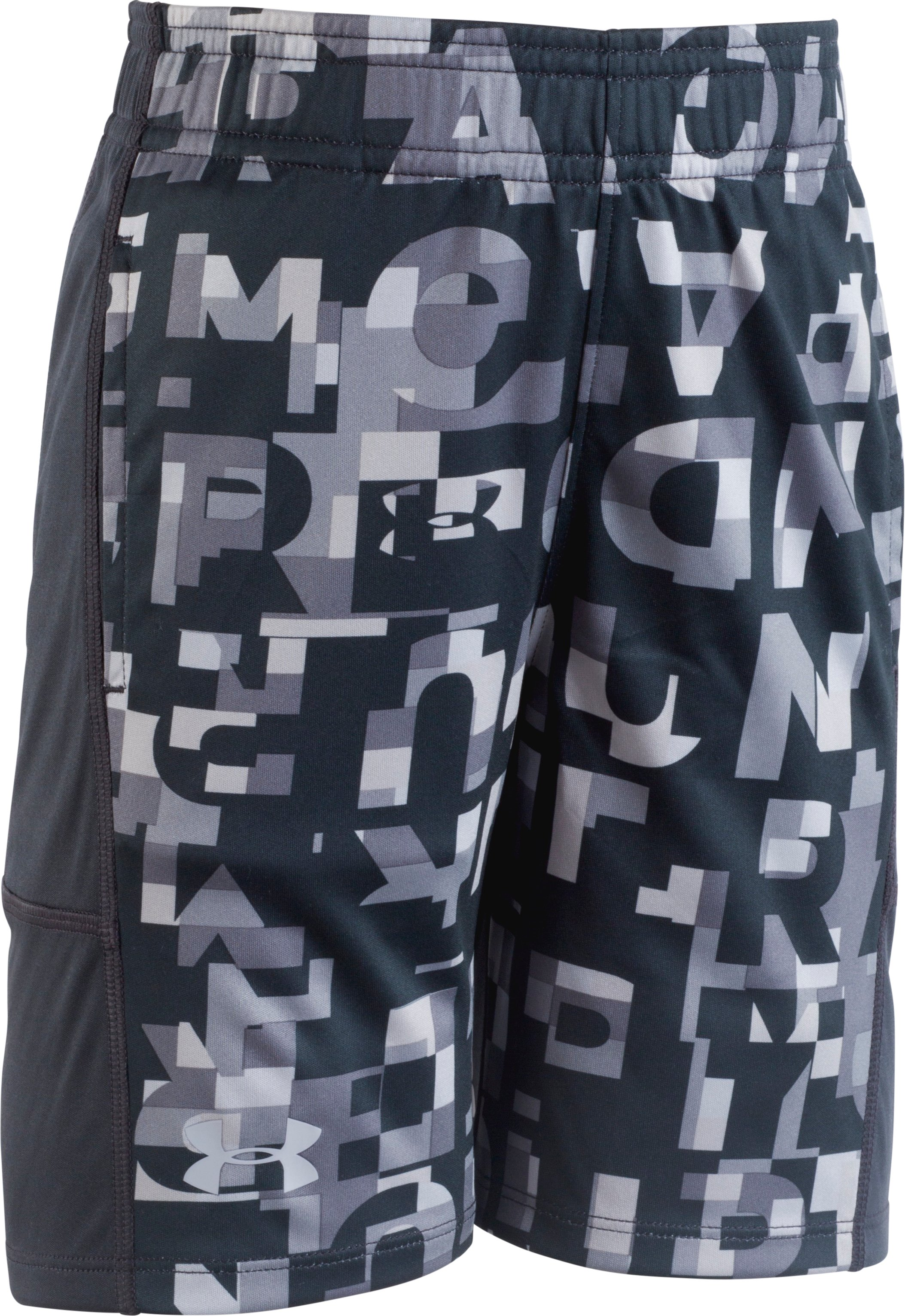 Boys' Toddler UA Wordmark Stunt Shorts  2 Colors $25.00