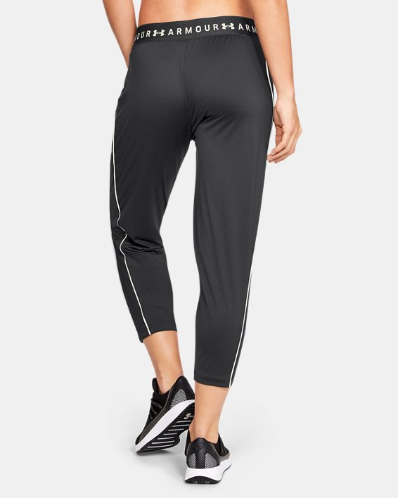 Legging UA Armour Sport Crop pour femme, Gray, pdpMainDesktop image number 2