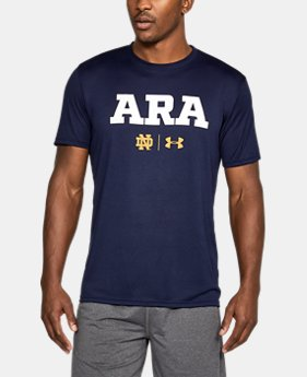 New Arrival Men's Notre Dame Ara Tech T-Shirt  1 Color $37.99