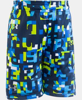 Boys' Toddler UA Reversible Shorts  1  Color Available $28