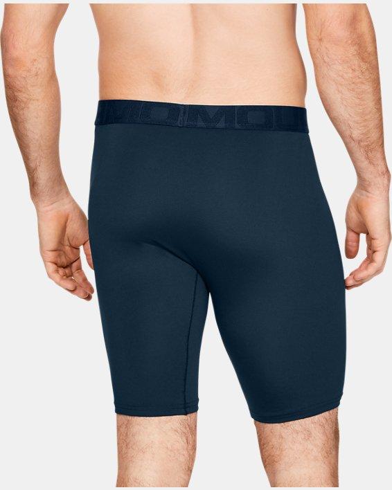 "Men's UA Tech™ Mesh 9"" Boxerjock® – 2-Pack, Navy, pdpMainDesktop image number 1"