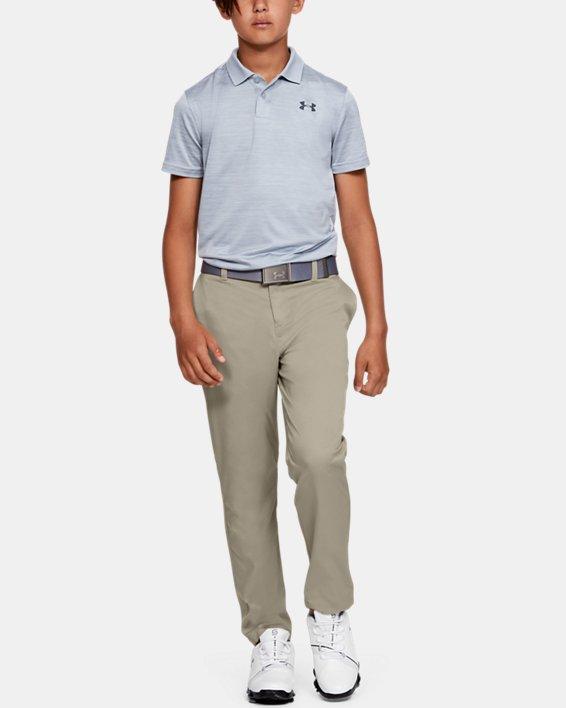 Boys UA Match Play 2.0 Golf Pants, Brown, pdpMainDesktop image number 0