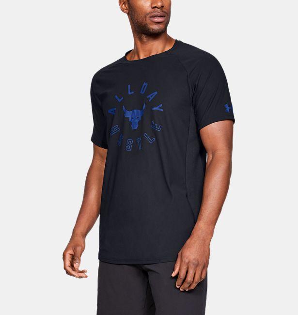 0e71903251cbe Men s UA x Project Rock Vanish Short Sleeve Shirt