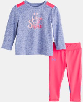 New Arrival Girls' Infant UA Here To Shine Set  1  Color Available $37