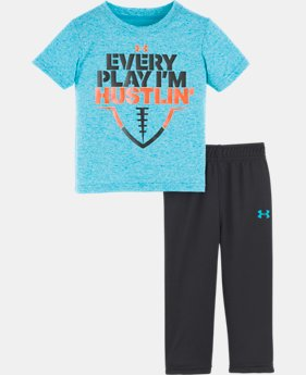 Boys' Infant UA Every Play I'm Hustlin' Set  1  Color Available $33
