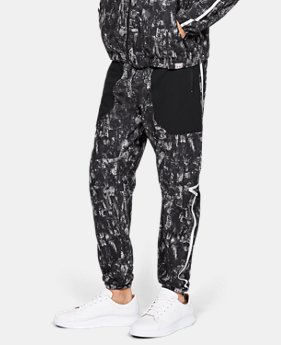 Men's UA Sportstyle Windsuit Pants Printed   $85