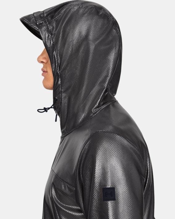 Men's UA Hybrid Windbreaker Jacket, Black, pdpMainDesktop image number 7