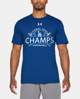 Men's Los Angeles Dodgers League Champs T-Shirt   $34.99