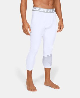 adbf1797687c2 New to Outlet Men's HeatGear® Armour ¾ Leggings 1 Color Available $26.99