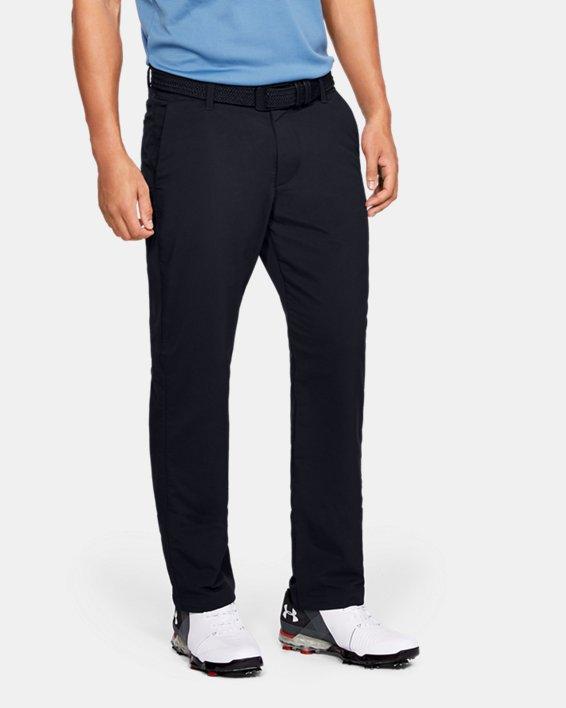Men's UA EU Performance Pants, Black, pdpMainDesktop image number 0